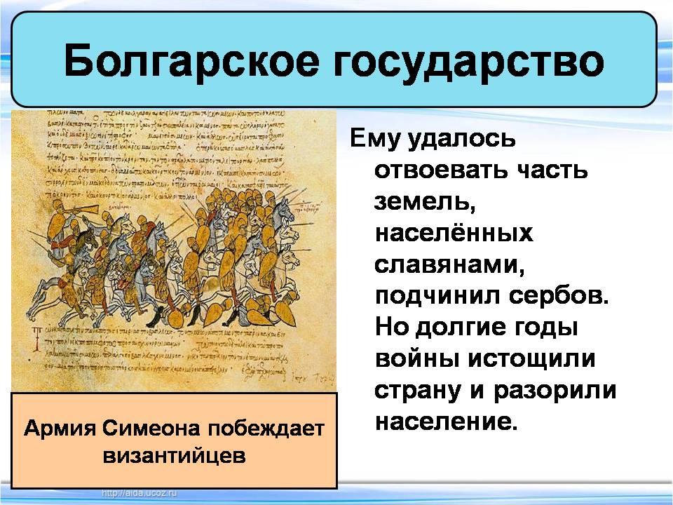 Доклад по истории на тему образование славянских государств 4878