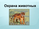 Охрана животных (3 класс)