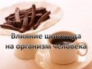 Влияние шоколада на организм человека
