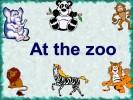 At the zoo (В зоопарке)